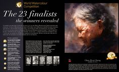 """In 2014, Mr. Chen-Wen Cheng become finalist of World Watercolor Competition (France) and Winner of Golden Prize for his masterpiece """"Loving Mother"""". Master Chen-Wen Cheng 程振文 was born in 1964 in Taiwan Ping Dong County. Mr. Chen-Wen Cheng received many prizes from Art Exhibitions in Taiwan during past years, which includes Tay-Yang Prize Winner, Tay-Yang Art Exhibition Winner, Chu Chien Prize Winner, Chu Chien Fine Art Exhibition First Prize etc. As a Member of Chinese Asia-Pacifi..."""