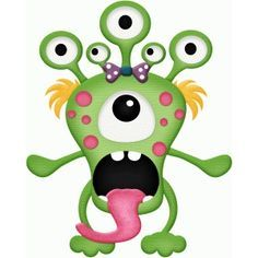 I think I'm in love with this design from the Silhouette Design Store! Monster Crafts, Felt Monster, Monster Dolls, Monster Party, Cartoon Monsters, Cute Monsters, Monsters Inc, Little Monsters, Monster Clipart
