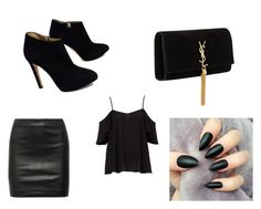 """Untitled #15"" by jcamila-jc on Polyvore featuring The Row, Yves Saint Laurent and Giuseppe Zanotti"