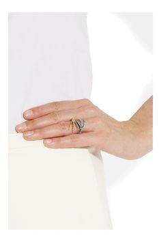 Stacked Talon Ring