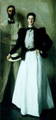 Mr. and Mrs. I. N. Phelps Stokes by John Singer Sargent  (1897)