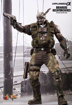 Appleseed Alpha - 2014 - Briareos - cyborg - action figure - Hot Toys