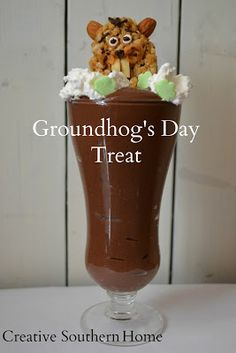 GroundHog's Day Treat | Creative Southern Home