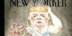 The magazine takes aim at the Republican presidential nominee's treatment of a former Miss Universe.