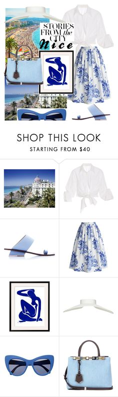 """Nice, France"" by keepitrealforme ❤ liked on Polyvore featuring Johanna Ortiz, Abcense, Chicwish, STELLA McCARTNEY and Fendi"