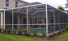 Southern Aluminum has over 19 years experience in building and installing pool enclosures and screen rooms all over the central Florida area.