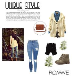 """""""Romwe 29"""" by zerina913 ❤ liked on Polyvore featuring Topshop, Pier 1 Imports and romwe"""