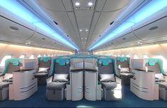 Classe Executiva A380 (Foto: divulgação)