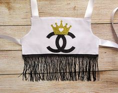 Handmade chanel top – Etsy Baby Chanel, Handmade, Tops, Hand Made, Handarbeit