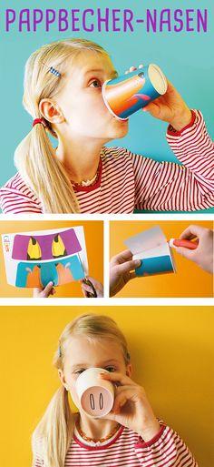 Lustige Idee für Karneval und Fasching!