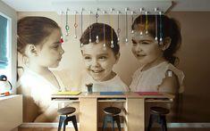 Triplets Bedroom Design by The Novogratz Hells Kitchen..NYC
