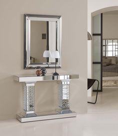 Consolas de Espejo modelo PILARES. Decoracion Beltran, venta online de consolas de todos los estilos.