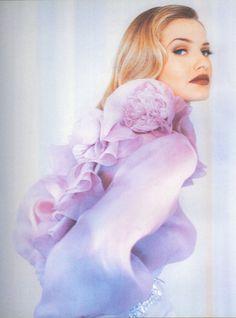 Chloe- silk peony frill detail