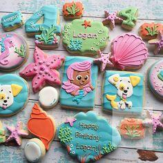 "@natsweets's photo: ""Bubble Guppies  #bubbleguppie #bubbleguppiecookies…"