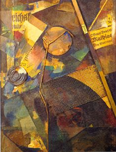 To Be Sane in an Insane World: Dada's Illogicality Collages, Collage Artists, Kurt Schwitters, Collage Art Mixed Media, Cubism, Sculptures, Drawings, Artwork, Assemblages