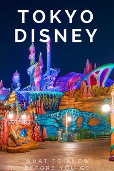 Tokyo Disney 101: Trip planning tips for visiting Tokyo Disneyland and Tokyo DisneySea.