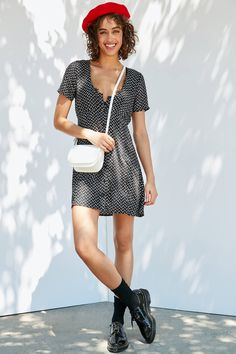 Shop Auguste The Label Alice Button-Down Mini Dress at Urban Outfitters today. We carry all the latest styles, colors and brands for you to choose from right here.