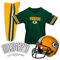 Franklin Sports NFL Green Bay Packers Deluxe Youth Uniform Set Small -- You can find out more details at the link of the image.Note:It is affiliate link to Amazon.