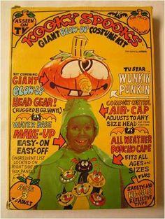 Kooky Spooks Halloween Costumes - I had this costume, probably 1980.