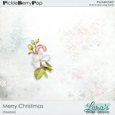 Merry Christmas Freebie By Lara's Digi World