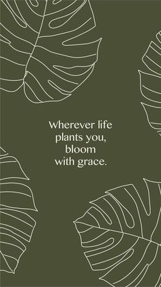 Inspirational Quotes from Functional Rustic Wherever life plants you, bloom with grace. 10 Inspirational Quotes from Functional Rustic Wherever life plants you, bloom with grace. Motivacional Quotes, Words Quotes, Sayings, The Words, Pretty Words, Beautiful Words, Positive Affirmations, Positive Quotes, Wallpaper Quotes