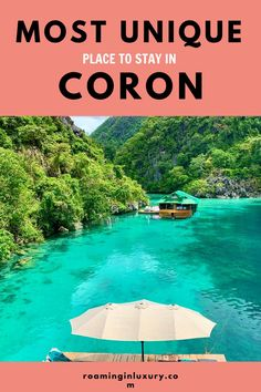 If you've been looking for the most unique place to stay in Coron, Philippines then look no further! Paolyn Houseboats is the ultimate dream, find out what make this place so special. Top Hotels, Hotels And Resorts, Amazing Destinations, Holiday Destinations, Global Holidays, Siargao Island, Water Villa, Dubai Hotel, Easter Island