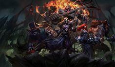 Pentakill Karthus, Mordekaiser, Olaf, Sona, Yorick | League of Legends