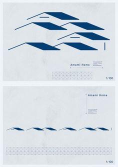 Grand Deluxe - Anami Home Book Design, Layout Design, Design Art, Dm Poster, Pamphlet Design, Japanese Graphic Design, Geometric Logo, Typography Logo, Logo Design Inspiration