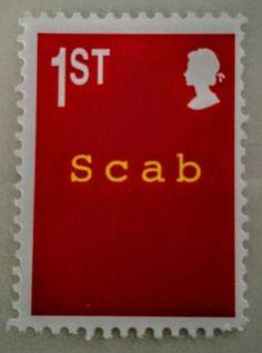 James Cauty  Scab   terror aware QE2 stamp of mass destruction vol 2 Banksy peer