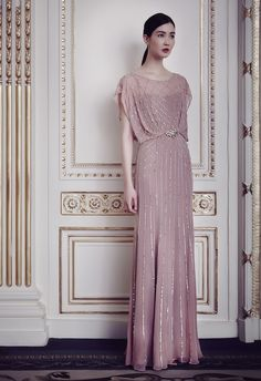 I could see Kate in this Jenny Packham gown from the a/w 2014 Cruise collection