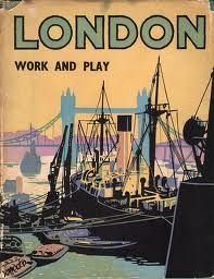 LONDON: Work and Play, illustrated by Brian Cook Batsford, 1950