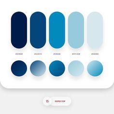 Color Palette Roundup 3 By - Dopely Colors 15 Rgb Palette, Palette Pastel, Flat Color Palette, Palette Diy, Design Palette, Colour Pallette, Colour Schemes, Color Patterns, Pantone Colour Palettes