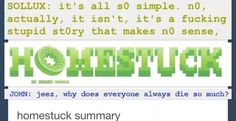 ((2 chats and hey! Everything about Homestuck makes sense now!))