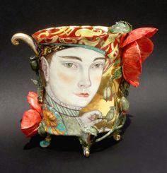 Irina Zaytceva, 2015, porcelain, front of cup