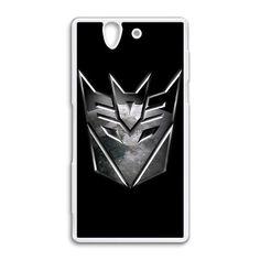 Transformers Decepticon Logo Sony Xperia Z case $18.89