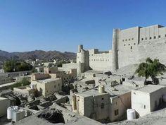 Fuerte de Bah la en Omán
