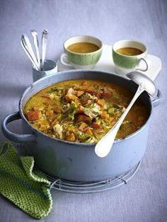 Curry-Hähnchen-Eintopf