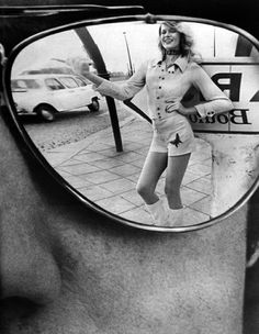 Helmut Newton For French Vogue Paris 1971 In Salvadors sunglasses
