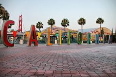I miss these letters in front of the park :-/