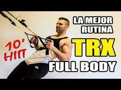 TRX RUTINA ABDOMINALES HIIT || RUTINA TRX 6 MINUTOS - YouTube