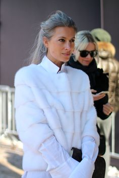 #SarahHarris killing it in white in NYC.