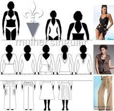 Resultado de imagem para blusas para quem tem corpo triangulo invertido
