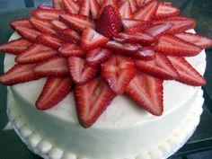 mmm strawberry shortcake cake!