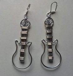 Art Shed, Wire Work, Personalized Items, Jewelry Ideas, Jewerly, Earrings, Music, Google, Design