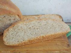 farina asse mattarello: Ciabatta di pane semintegrale