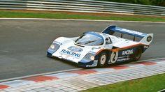 Stefan Bellof pilota la vuelta más rápida de la historia del Nordschleife con el #Porsche 956 C en 1983.