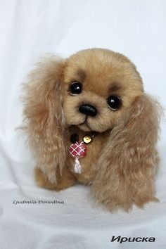 Discover recipes, home ideas, style inspiration and other ideas to try. Baby Animals Super Cute, Cute Stuffed Animals, Cute Little Animals, Cute Funny Animals, Plush Animals, Felt Animals, Animals And Pets, Baby Animals Pictures, Felt Dogs