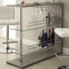 Wildon Home ® Bar with Wine Storage   AllModern