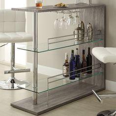 Wildon Home ® Bar with Wine Storage | AllModern