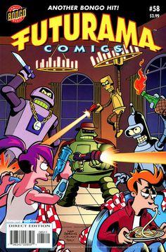 Cover for Bongo Comics Presents Futurama Comics series) Futurama, Best 90s Cartoons, Comic Art, Comic Books, Pop Art Images, Classic Cartoon Characters, Saturday Morning Cartoons, Cartoon Network Adventure Time, Cartoon Shows